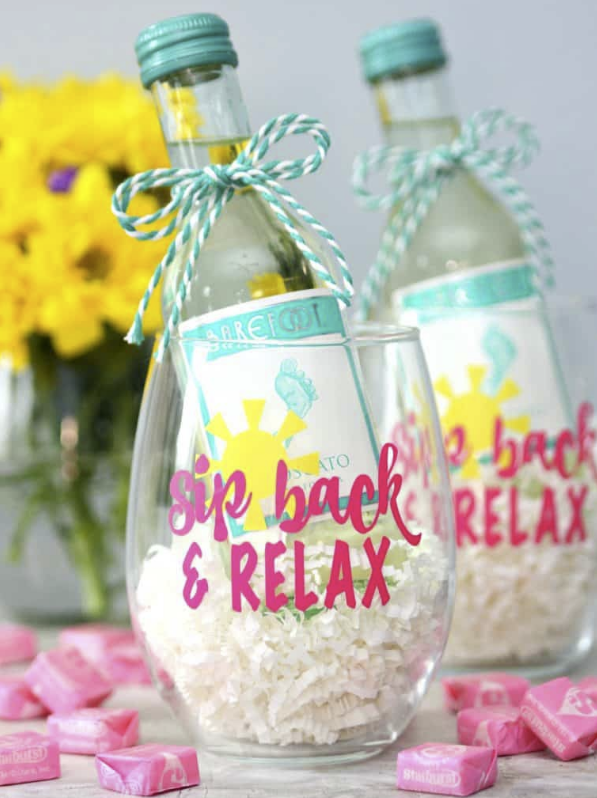 Cricut Summer Project Sip Back and Relax
