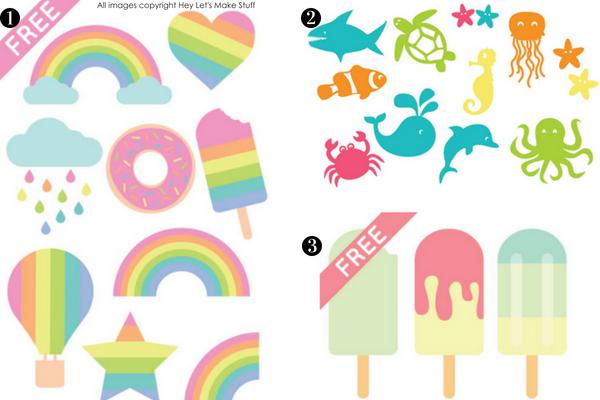 FREE SUMMER SVGs- Hey Let's Make Stuff