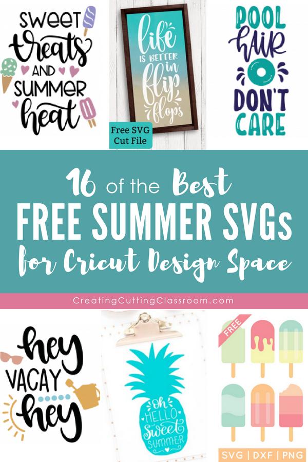 Best Free Summer SVGs