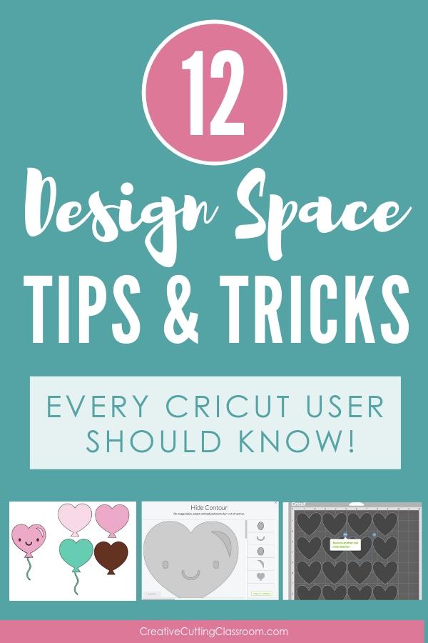 12 Design Space Tips & Tricks