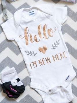 Best Cricut Projects-Hello Im New Here Onsie-practically functional.JPG