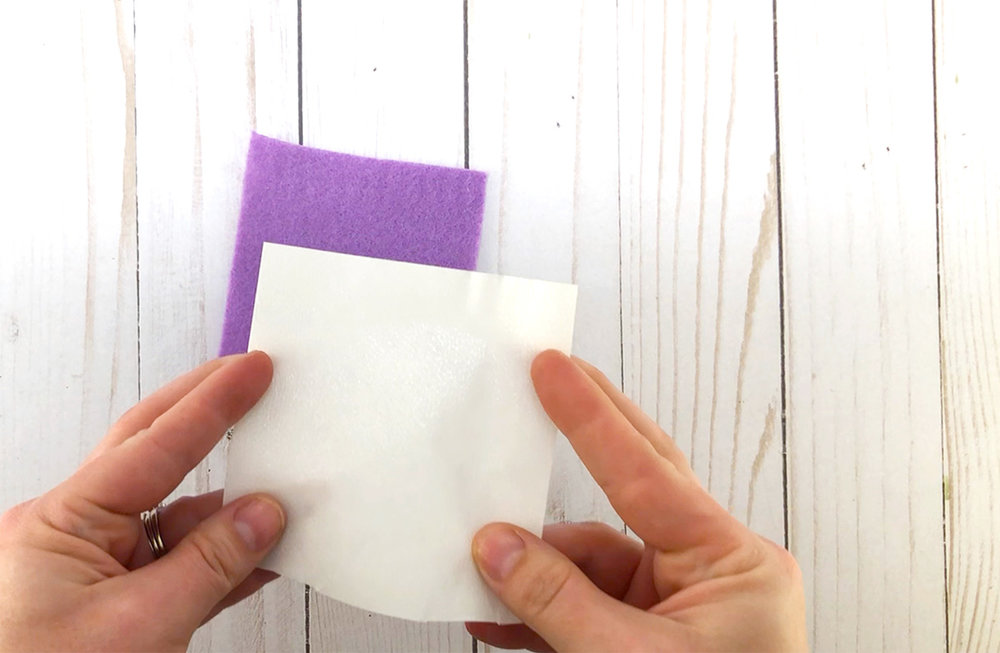 Heat N Bond to stabalize felt for cutting with Cricut Explore.jpg
