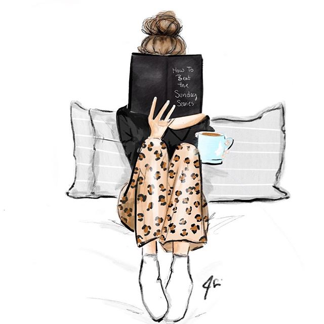Sundays #melsys #art #fashionillustration