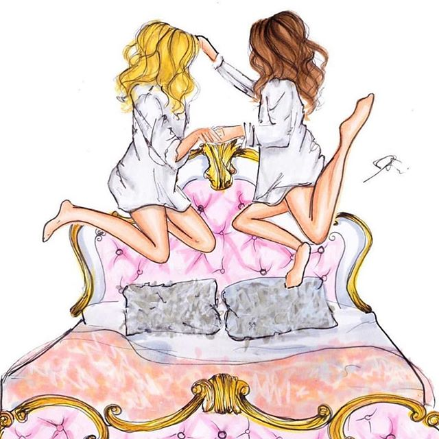 Happy weekend!! Tag your bff! #melsy #fashionillustration #friday #friyay #weekend #art #copicmarler