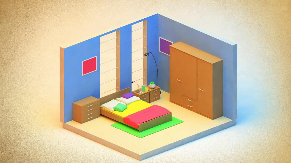 Bedroom w/o AR