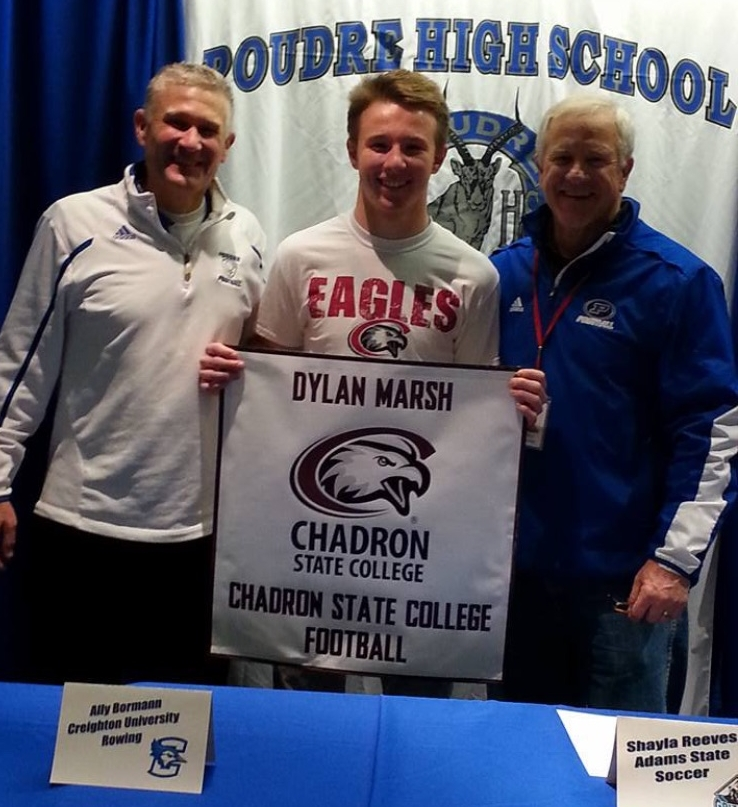 Dylan Marsh  - PHS Class of 2017  Chadron State College