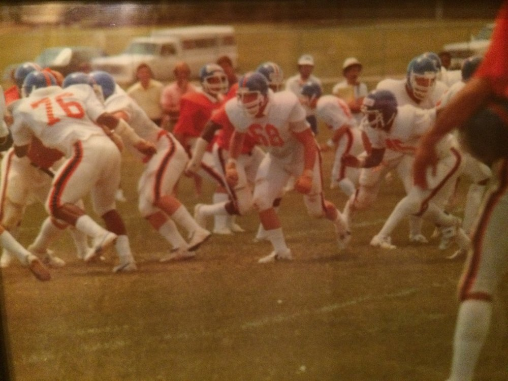 Dave Griffin (#68) - PHS Class of 1974  University of Colorado 1976-1978  2 Camps with the Denver Broncos, 1 Camp with the KC Chiefs