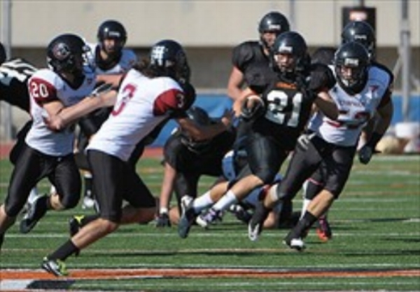 Teran McWhinney  - PHS Class of 2010  Occidental College - (#21) RB / DB /KR