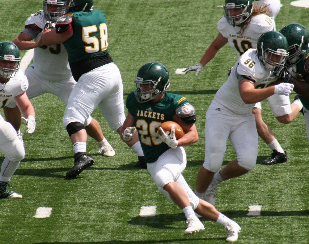 Jack Walbye  - PHS Class of 2016  Black Hills State University - (#28) RB