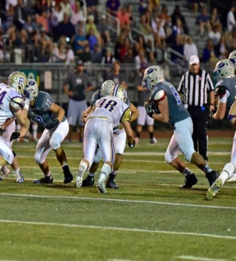 "Tyler Stilwagon   (#64 Center) - Class of 2018    All Conference 2017    Email : tstilwagon1299@gmail.com    Hudl:    Hudl Highlight Film     Player Profile:    Tyler Stilwagon Profile      Click Here to See Tyler's 2016 Stats     Physical Data:  - Height: 6'1"" / Weight: 250 lbs / Bench Max: 315 lbs / Squat Max: 405 lbs / Clean Max: 225 lbs / 40 time: 5.0 / Pro Agility: 4.78 / Vertical: 26""   Football Honors:  Started all 10 games in 2016 at center   Academic Information : Please contact our recruiting coordinator for this information. We are not putting academic information on our website at this time.   Coaches Comments:  Tyler was a solid player for us in 2016 and has gotten better each year as part of Poudre Football. He had a great 2017 and played both Center and Guard."