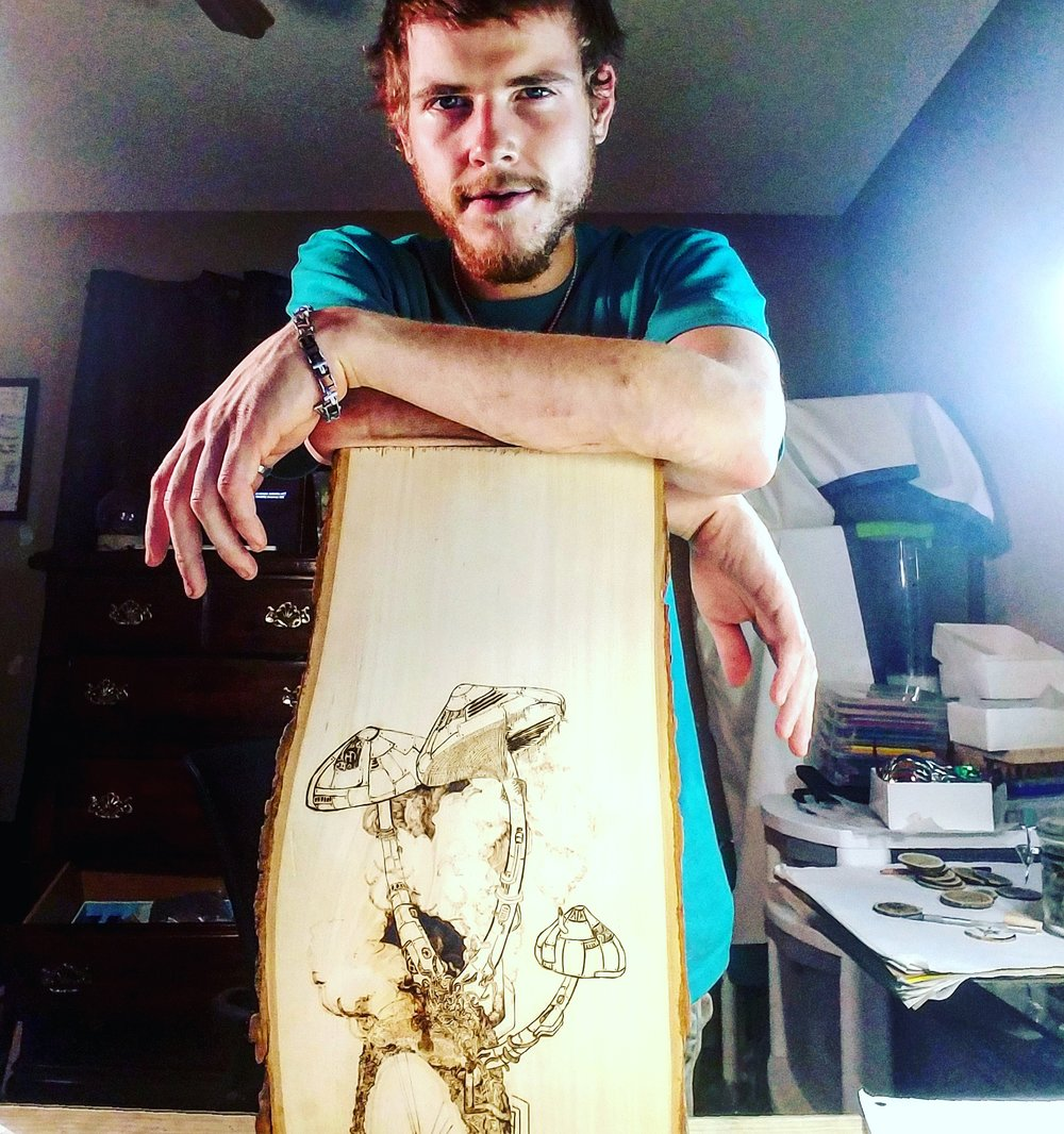 Pyrography is a way to bring life back to wood, and it is simply astonishing.