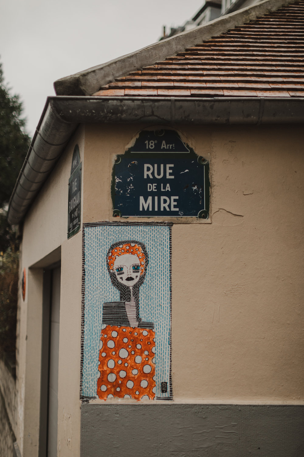 Pro tip : Every street sign also has the arrondissement up top. Sometimes the sign will also tell you who the street is named for (they will note  writer ,  painter , etc. at the bottom of the street sign).