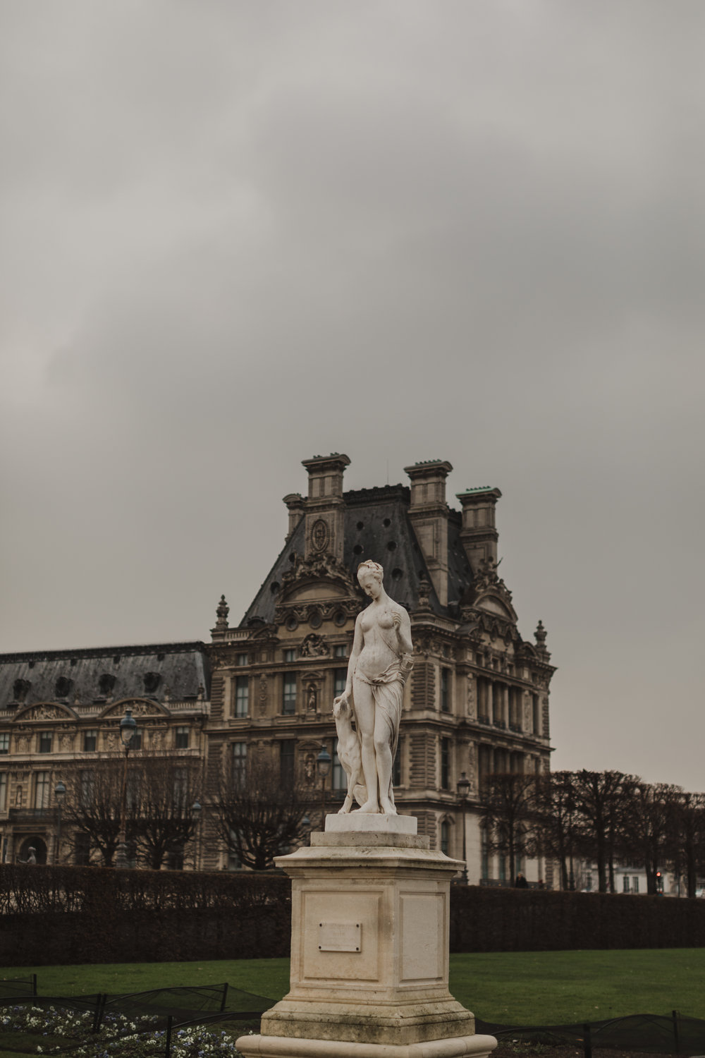 In the Jardin des Tuilieries