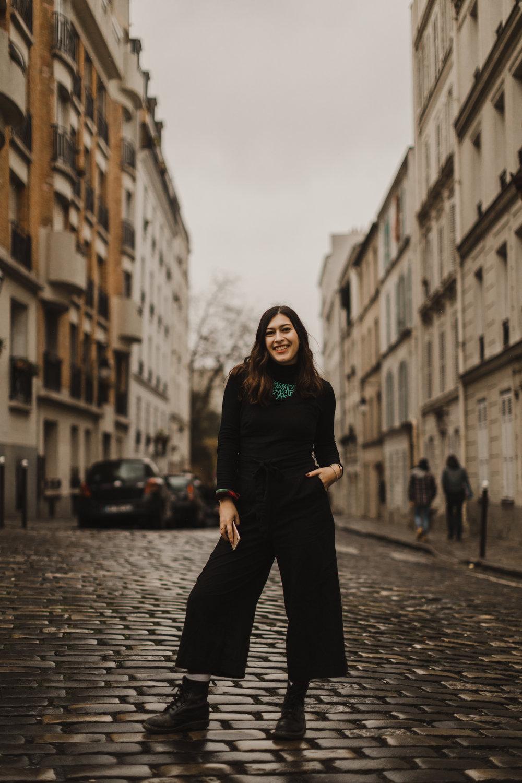 On a favorite side street in Montmartre