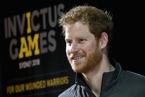 August 14, 2018 - Invictus Games presentation