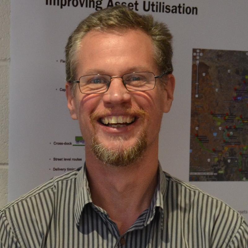 Dr Paul Neumeyer - Program ManagerTechnology & InfrastructureSense-T