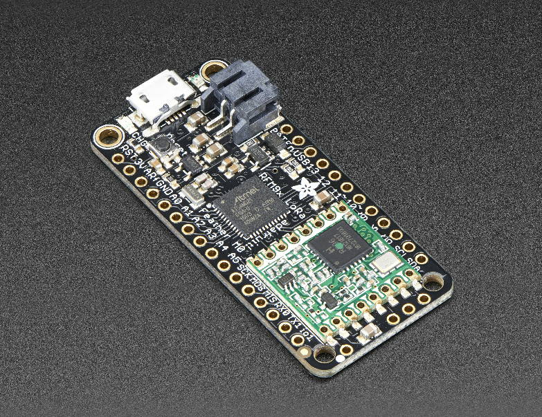 This LoRa board is an Ardunio compatible board, so the programming will be familiar to people who have Arduino experience.