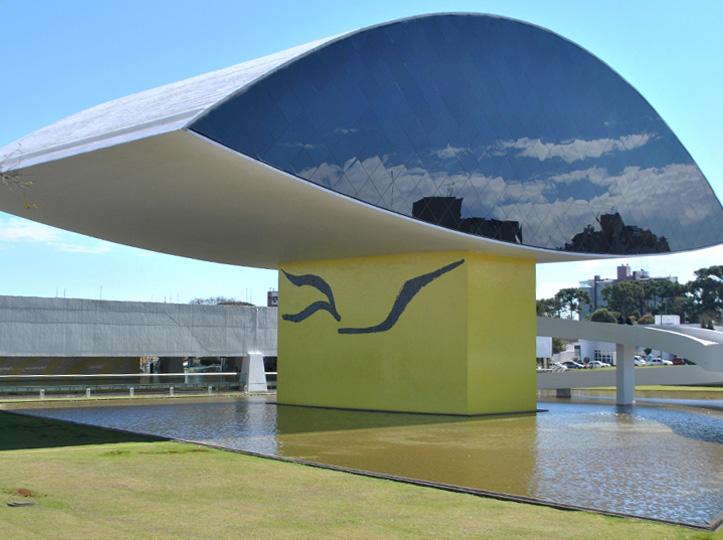 Oscar Niemeyer Museum in Curitiba