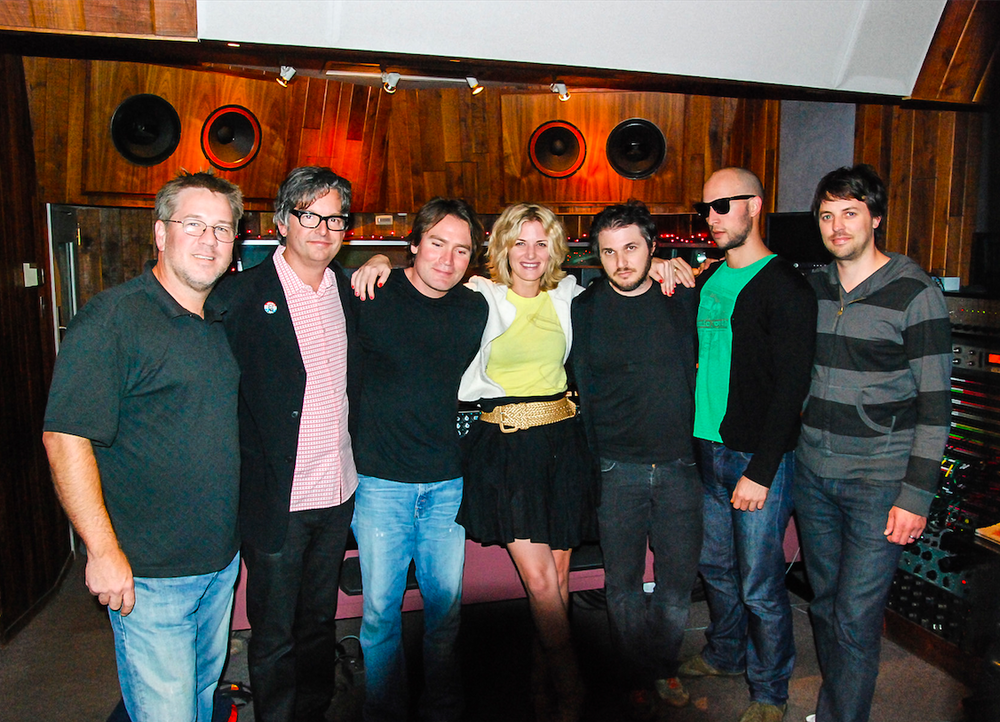 "Recording ""Carefree"" at Sunset Sound, Hollywood, CA with this incredible team."