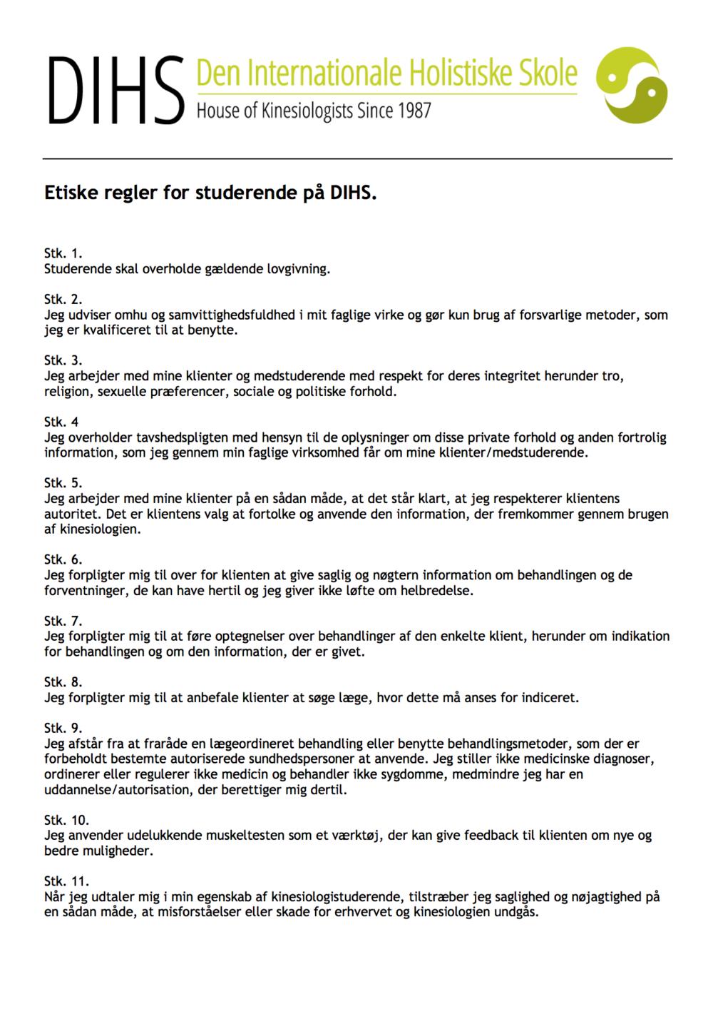 Etiske regler for studerende dihs.png