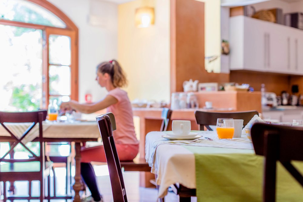 Ospitalità   Alloggio e prima colazione