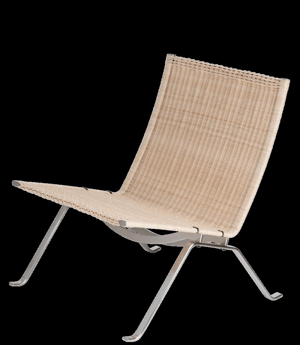 PK 22 easy chair, wicker