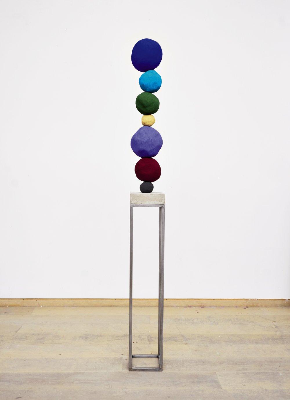 Lot 7: Annie Morris - Stack 7, Ultramine Blue