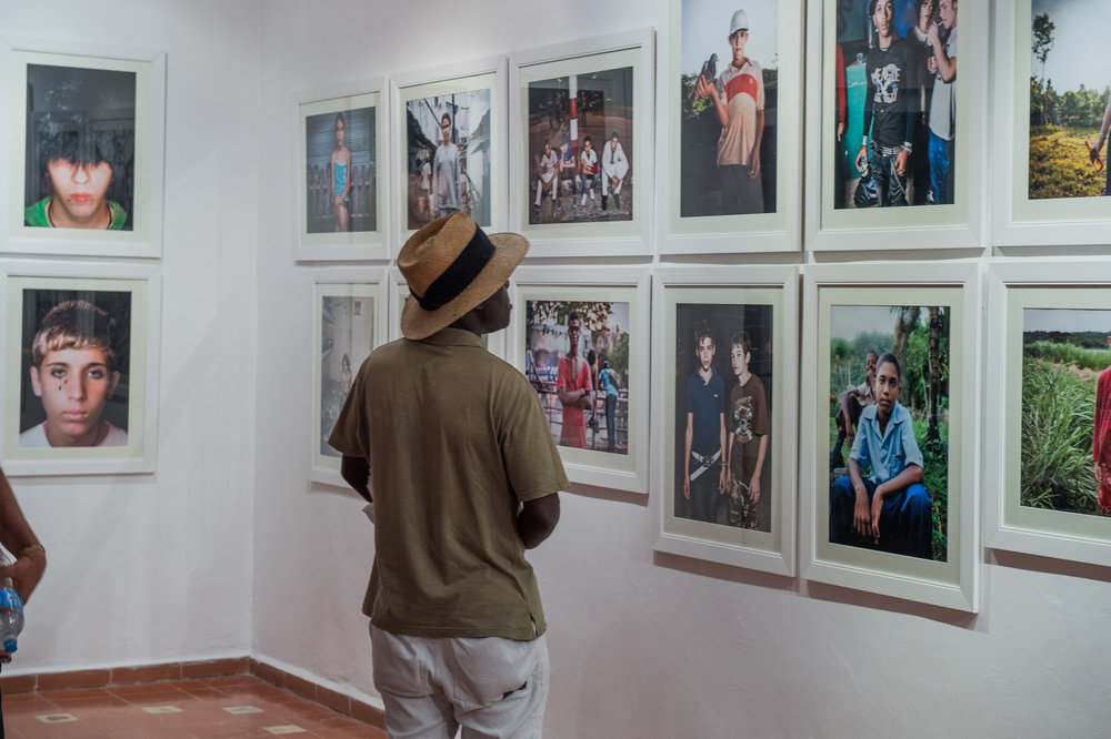 A Smell That Comes Through My Window   Club Museo del Ron, Cuba  A group exhibition providing a platform for emerging Cuban artists, hosted by Havana Club's Havana Cultura Programme, at the 11th Havana Biennial.  Image: Installation shot