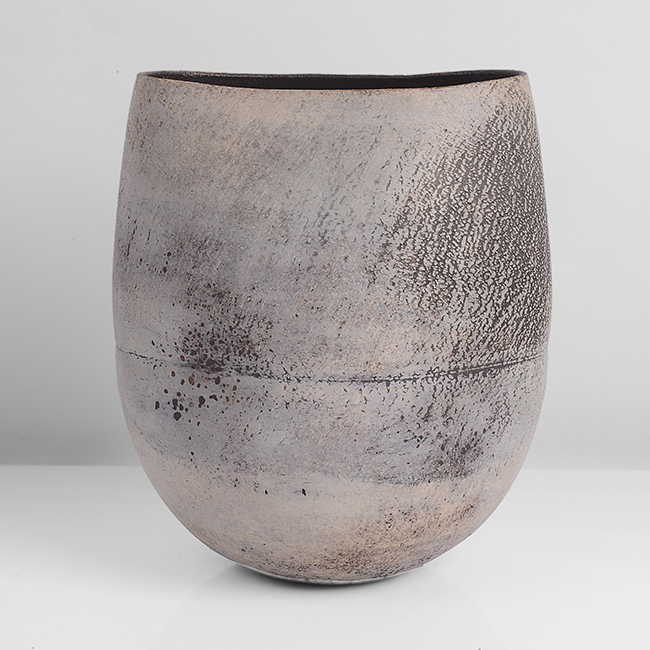 Hans Coper,  Squeezed Vase Form  (Lot 124) Sold: £33,600