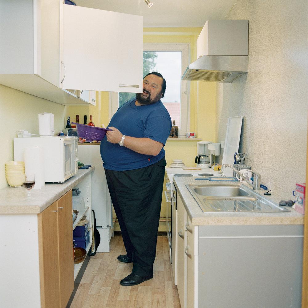 Dieter Wagner alias Luciano Pavarotti