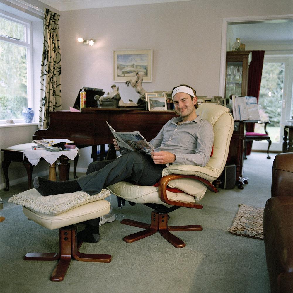 Andy Cobb alias Roger Federer