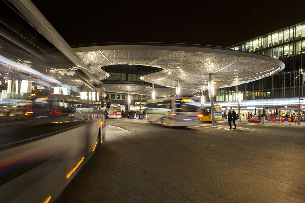 Architektur Busbahnhof Aarau