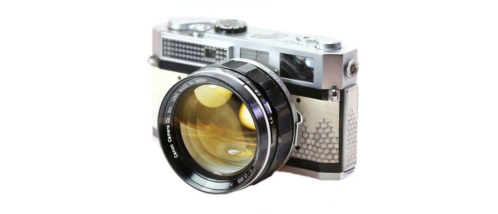 Canon 50mm f095 cameraplex