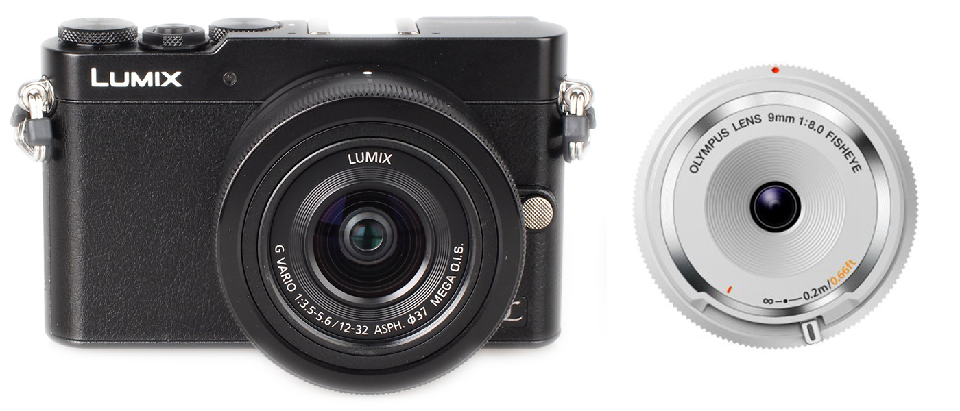 professional camera kit for under $1000 Lumix