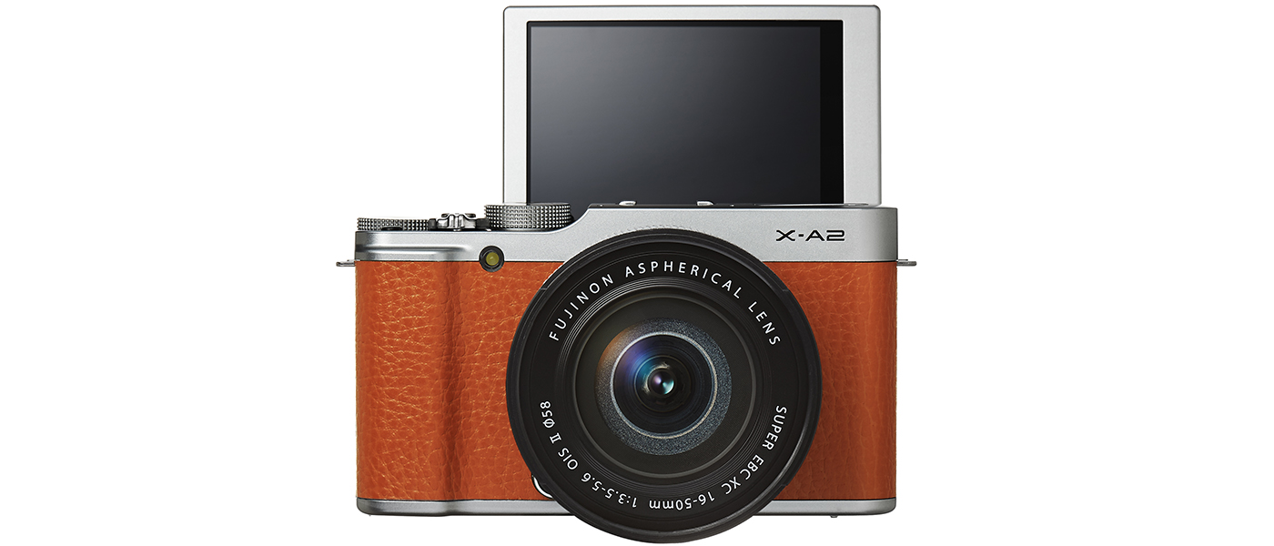 FUJI FILM X-A2 |premium interchangeable lens camera with 175° tilting LCD and new Eye Detection Auto Focus