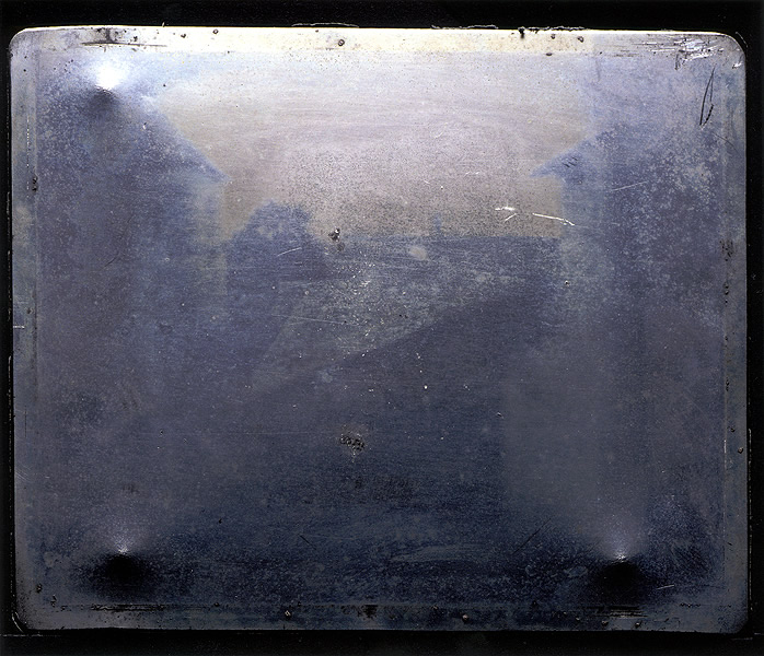 "Nicéphore Niépce's ""View from the Window at Le Gras"" 