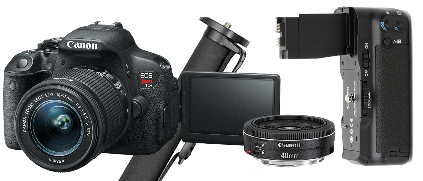 professional camera kit for under $1000 Canon