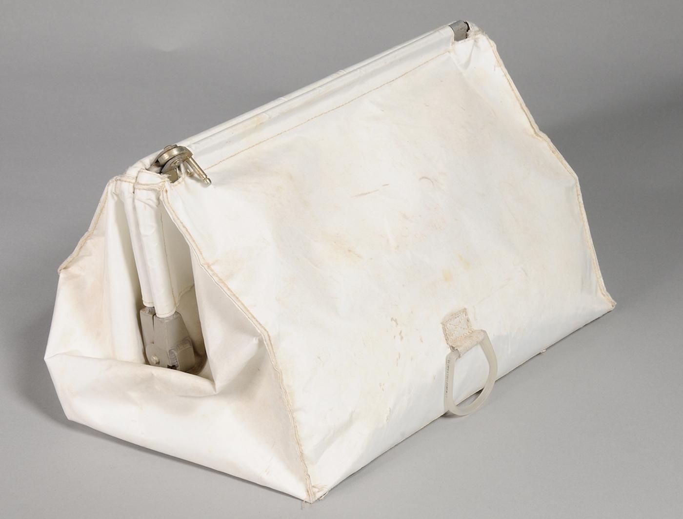 Apollo 11 camera lost Cloth Bag Found in Closet Containing Apollo 11 Items