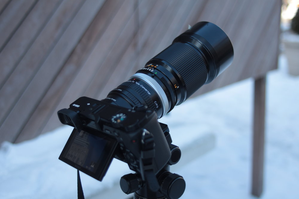 Teleconverter Stacking | 1 Teleconverter
