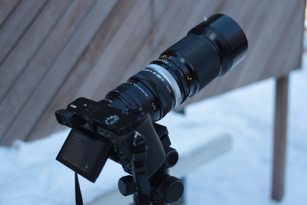 Teleconverter Stacking | 2 Teleconverters