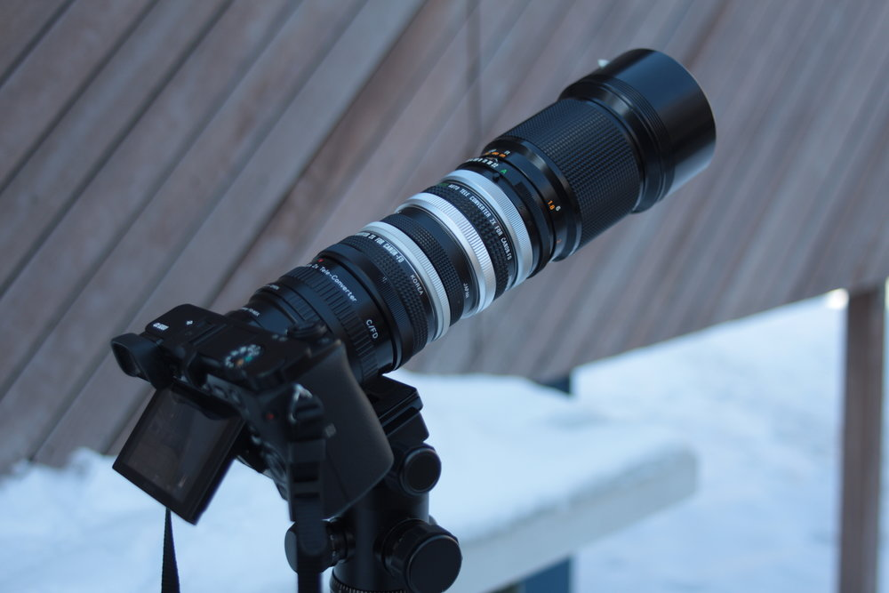 Teleconverter Stacking | 4 Teleconverters