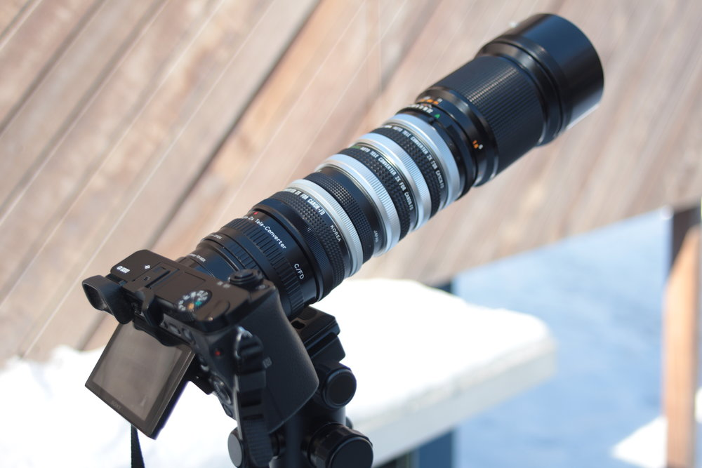 Teleconverter Stacking | 5 Teleconverters