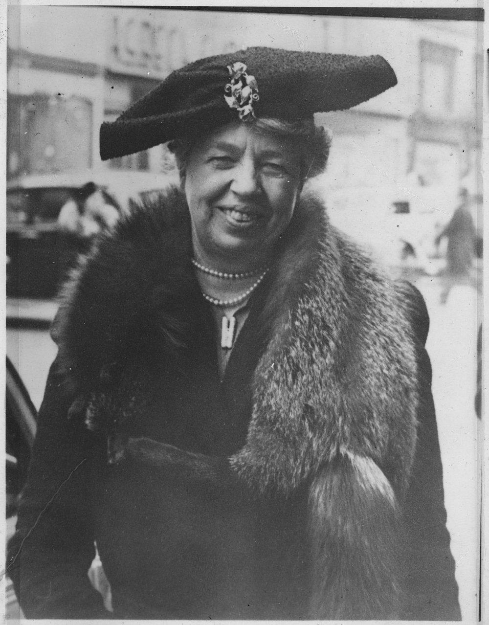 amazing portraits, Eleanor Roosevelt Camerplex