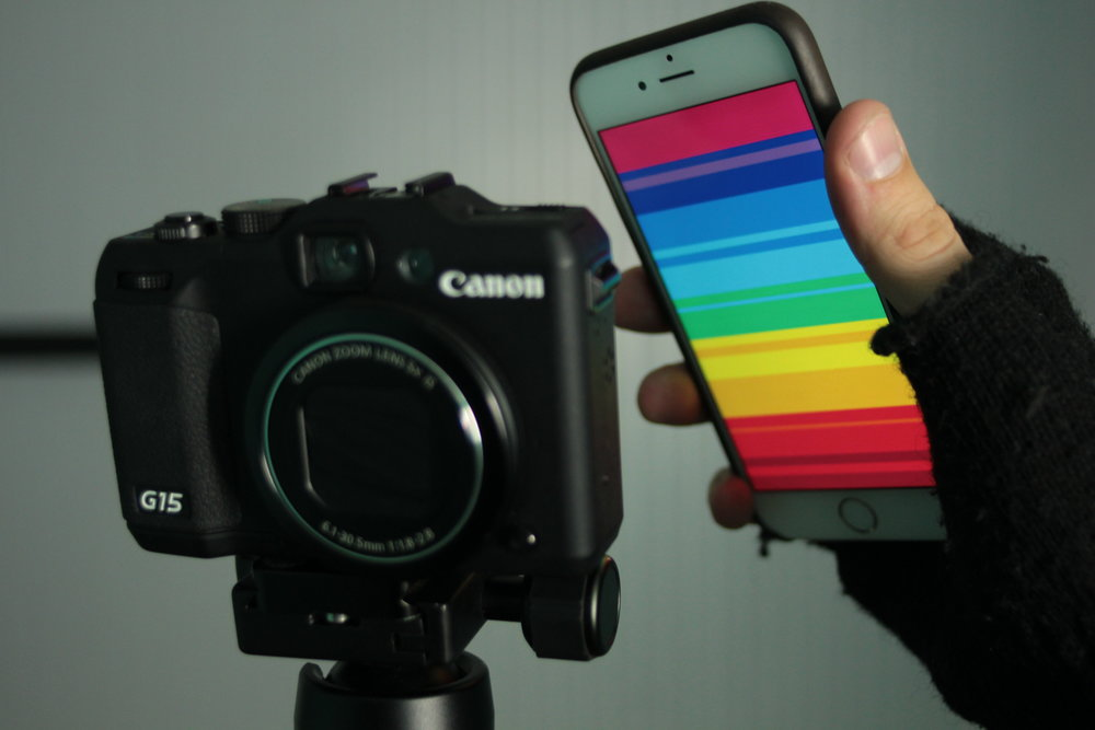 Product Photography Light Painting Using Your iPhone prism pattern