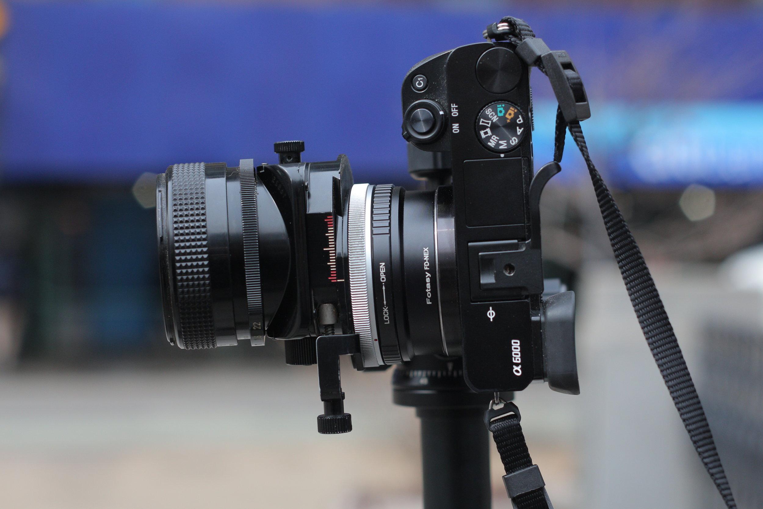 Tilt Shift Lens
