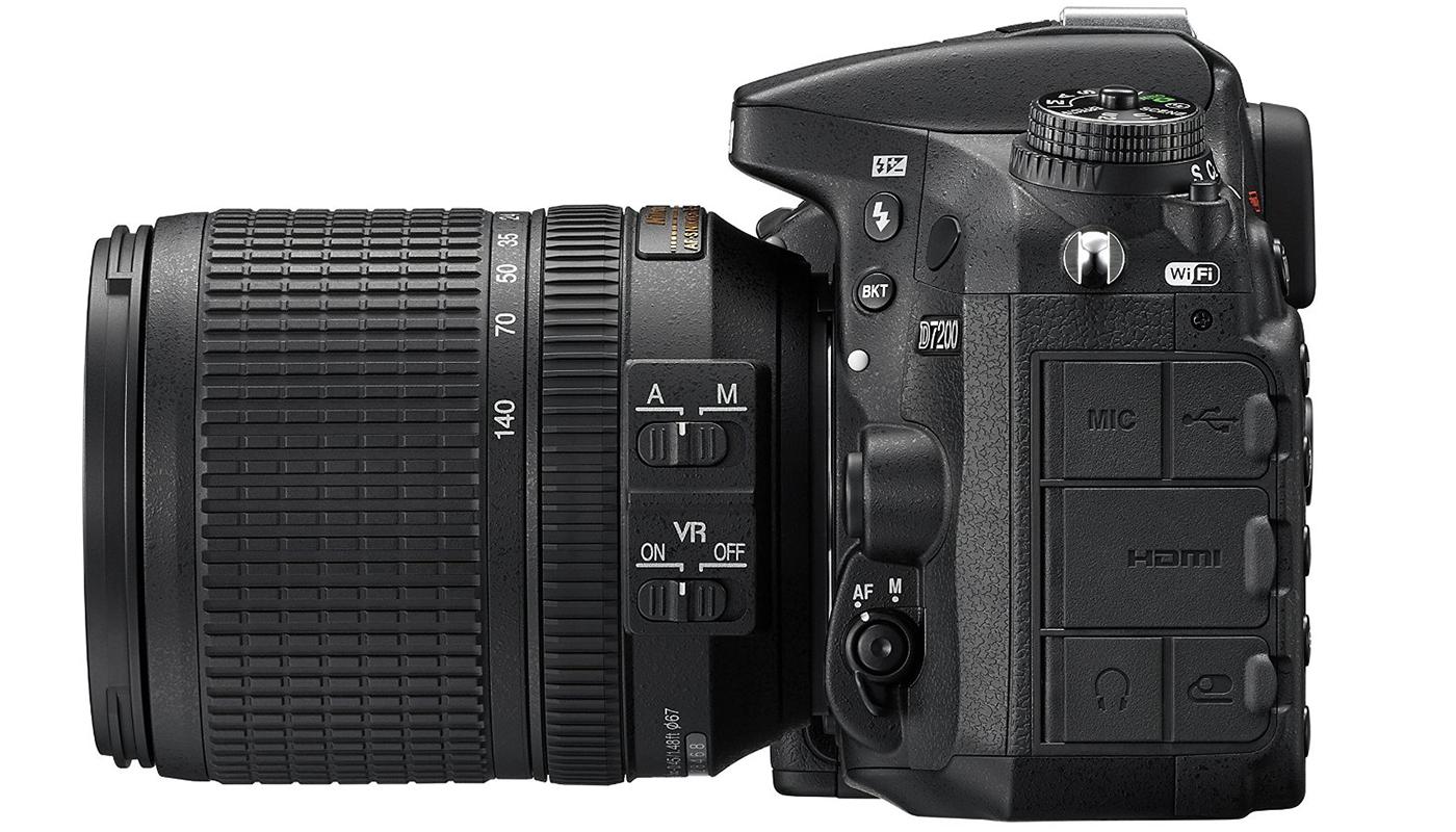 Nikon d7200 Video, Nikon D7200 Left Cameraplex