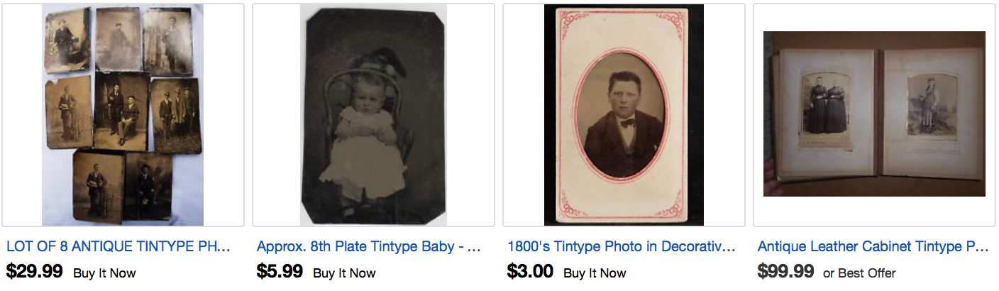Where to buy tintype photographs