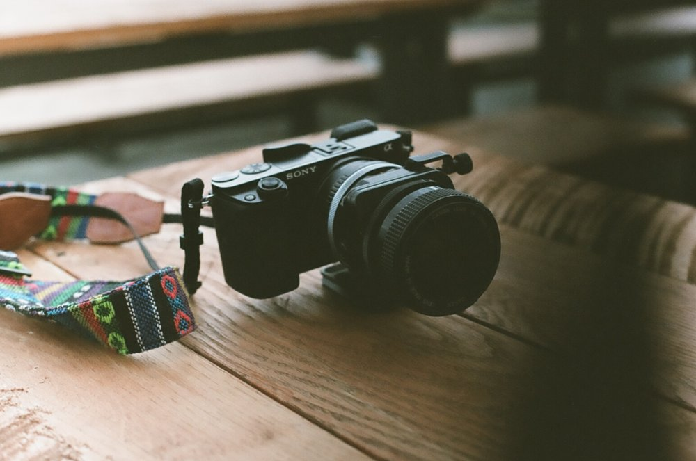Going Analog, Full 35mm Photography Kit, sony a6000 with tilt-shift lens