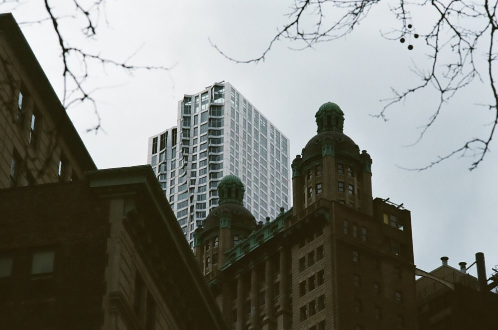 Going Analog, Full 35mm Photography Kit, New York building