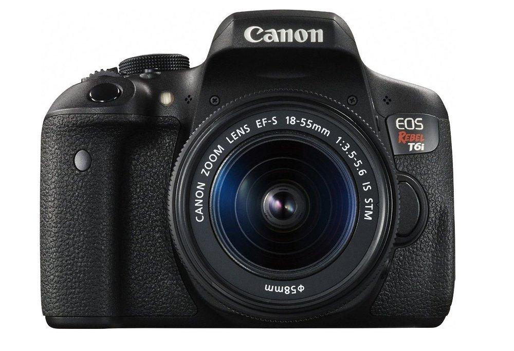 Canon t6I small dslr